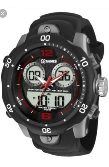 Relógio Masculino X-games Xmppa206 P1sx Anadig Quartz