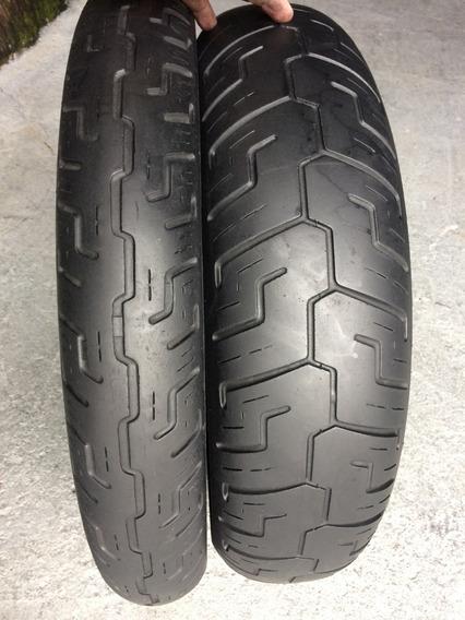 Pneus 100/90/19 E 150/80/16 Dunlop Harley Davidson Usados
