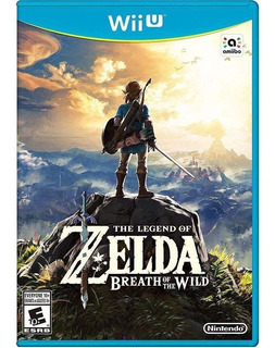 The Legend Of Zelda Breath Of The Wild (nuevo Sellado) Wiiu