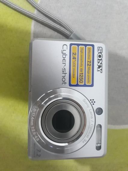 Câmera Digital Sony Cyber-shot Dsc-s750 7.2 Mega Pixels