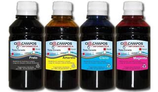Tinta Comestível Compatível Para Impressoras Hp E Canon