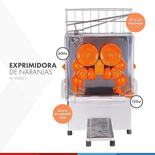 Exprimidor De Naranjas Industrial Automático Profesional