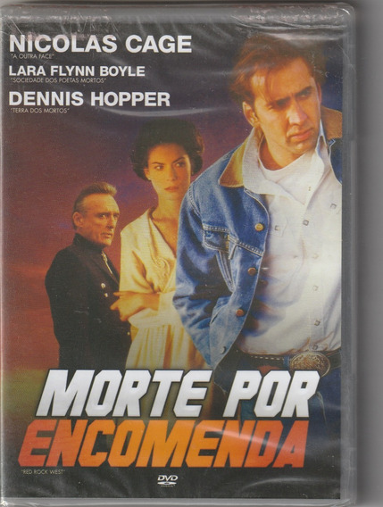 Dvd Morte Por Encomenda - Nicolas Cage (legendado E Lacrado)