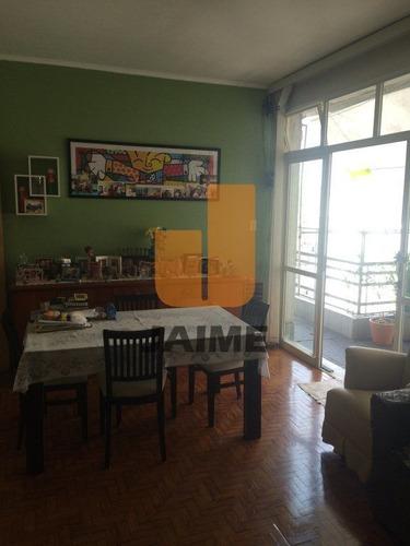 Apartamento Para Venda No Bairro Higienópolis Em São Paulo - Cod: Ja703 - Ja703