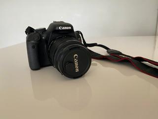 Camera Canon T3i + Lente 18-55 + Sd 32 Gb + Sd 16 Gb