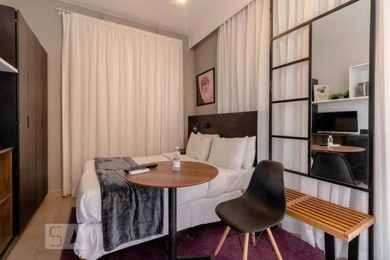Apartamento Para Aluguel - Vila Olímpia, 1 Quarto, 27 - 893071421