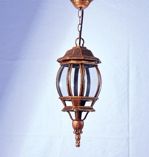 Pendente Ouro Velho 1lamp. E27 - 16x41cm