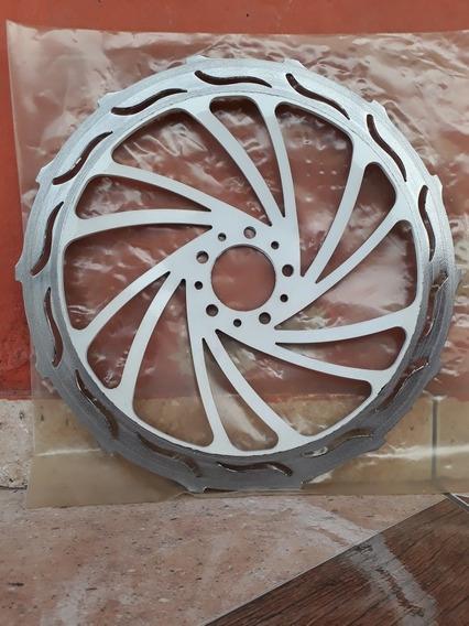 Discao 370mm Aspiral Verde Titan E Fan Freio Cbs 2015 A 2017