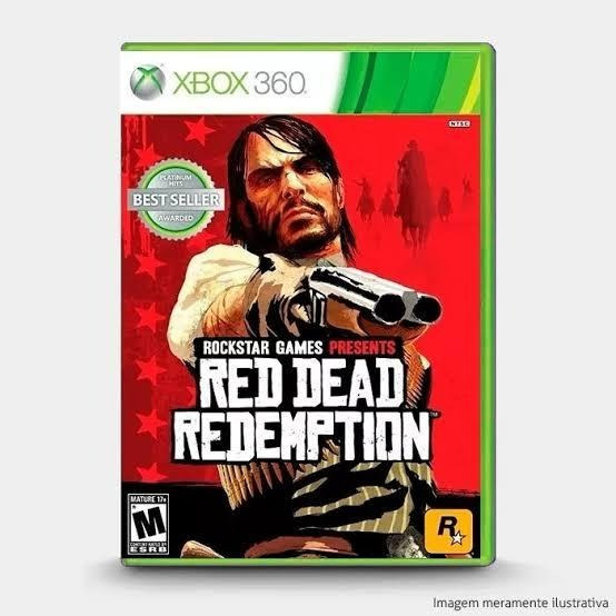 Red Dead Redemption Xbox 360 Midia Digital