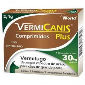 Vermicanis 2,4g (30kg) C/4 Comp