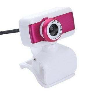 Webcam Digital Web Camera Plug & Play - Pink
