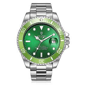 Reloj Pulsera Tevise T801a Mecánico Acero Inoxid. P/hombre
