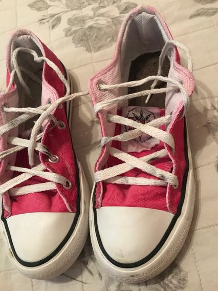 Zapatillas Bajas Para Niña Roller Num33, En Perfecto Estado.