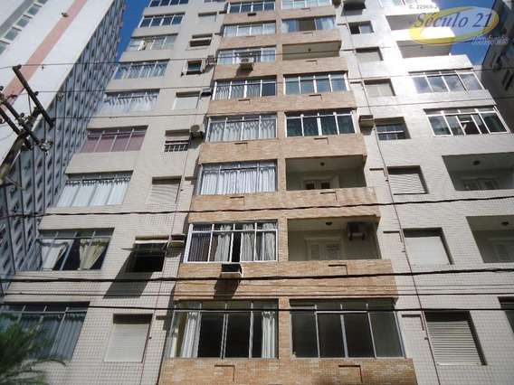 Apartamento Residencial À Venda, José Menino, Santos. - Ap5414
