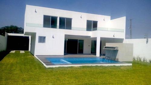 ¡¡estrena Fantastica Residencia!!! Paraíso Tlahuica Ayala Morelos
