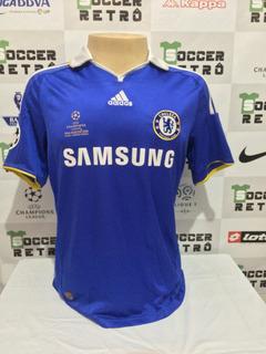 Camisa Chelsea Final Champions League 2008 Lampard 8