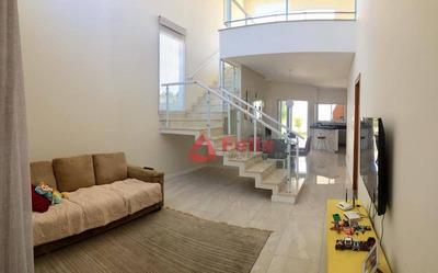 Casa Térrea Para Venda No Condomínio Green Park Com 3 Suítes E 250 M² De Construção. Quiririm - Taubaté. - Ca1506