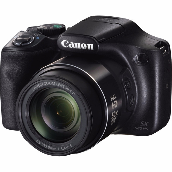Câmera Canon Powershot Sx540 Hs 20.3mp 50x Wifi Nfc