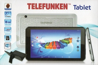Tablet 7 Android 4.2, 1 Ghz, Dual Core, Wifi Doble Camara,