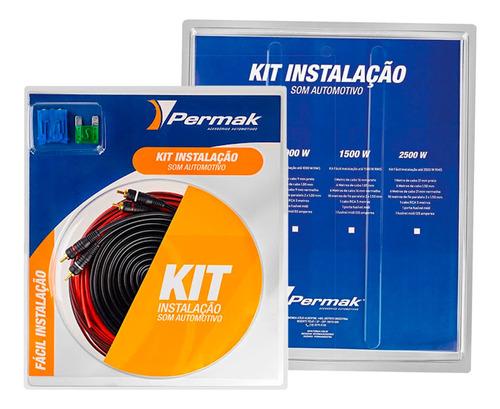 Kit Fiação Instalação Som Automotivo Módulo 1000 Wrms