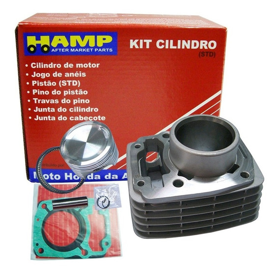 Kit Cilindro Motor Titan 125 1995/2001 Original Honda Hamp