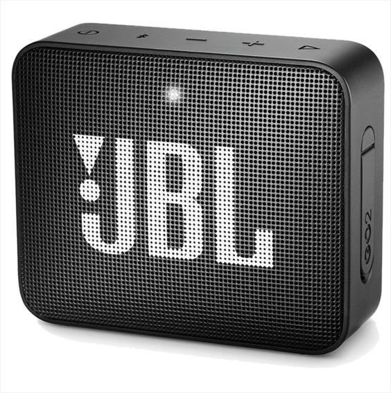 Jbl Go 2 Original Preta Caixa De Som Bluetooth By Harman