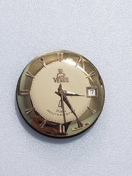 Maquina De Relógio De Pulso Automático Calendario Venus