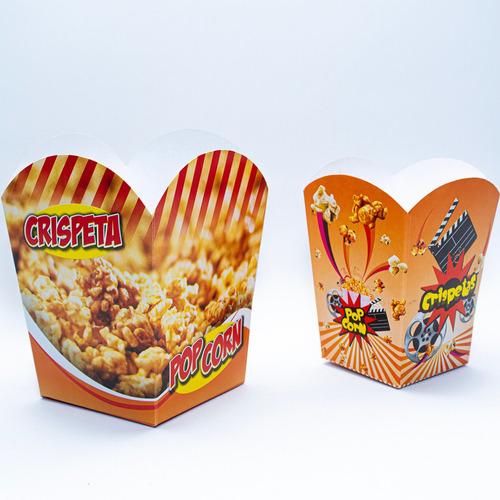 Empaque De Crispetas Grande Color X 5 - Unidad a $1
