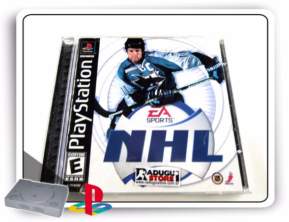 Nhl 2001 Caixa E Manual Apenas, Original Playstation 1 Ps1