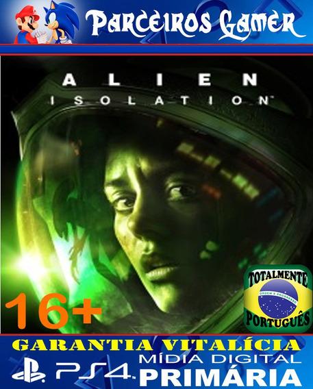 Alien Isolation - Ps4 1 - Mídia Digital - Terror