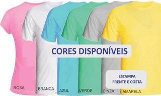 10 Camisetas Personalizadas Em Sublimação
