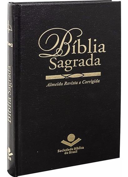 Bíblia Sagrada - Revista E Corrigida - Capa Dura (preta)