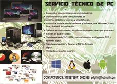 Servicio Tecnico Pc Portatil Smartphone Tablet