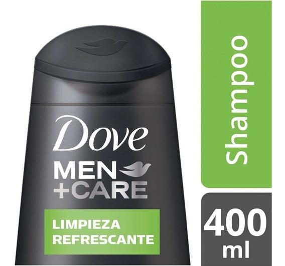Dove Shampoo X400 Men Limpieza Refresc.