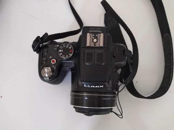 Camera Digital Fz 200 Panasonic, Pequena Mancha Display.