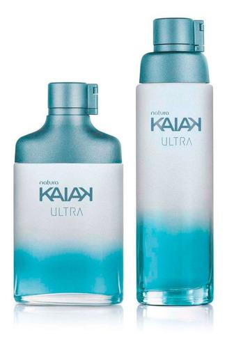 Kit Oferta Kaiak Ultra 2 Perfumes Hombre Y Mujer Natura