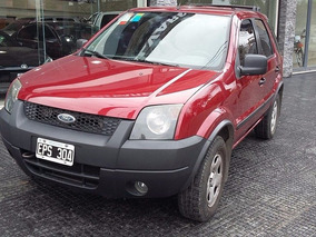Ford Ecosport 1.4 Tdci 4x2 Xls Año 2004 Color Bordo