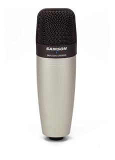 Micrófono Samson C01 cardioide plata