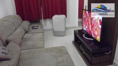 Apartamento 2 Dormitórios C/ Armários, Sala Ampla, Cozinha Planejada, 2 Garagem, Lazer Completo - Jardim Pacaembu - Ap0854