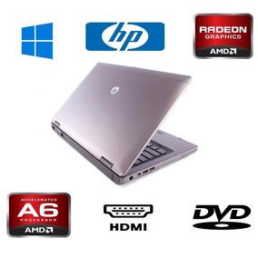 Notebook Hp Probook Placa De Video Radeon A6 Usb 3.0 Ssd