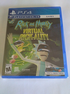 Rick And Morty Virtual Rick-ality Vr Ps4 Nuevo Sellado