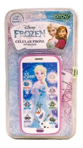 Celular Frozen Phone Disney