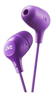 Jvc Marshmallow Memory Foam Earbud Violeta Hafx38v