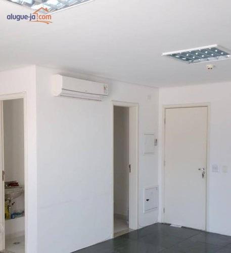 Conjunto Para Alugar, 40 M² Por R$ 1.475/mês - Brooklin Paulista - São Paulo/sp - Cj0032