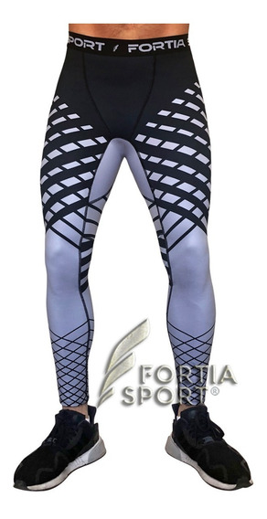 Leggins Lycra Deportiva Para Hombre Gym Fortia Sport
