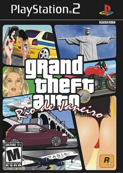 Gta Rio De Janeiro 1 Playstation 2 + Gta Rio 2 Ps2