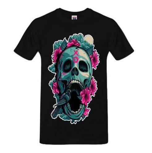 Camisa Estampa Skull02