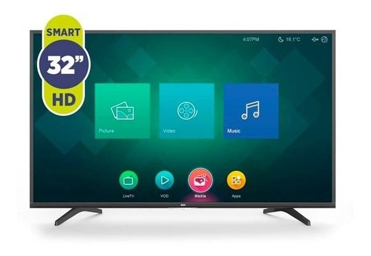 Smart Tv 32 Hd Netflix Youtube Hdmi Usb Bgh Novogar