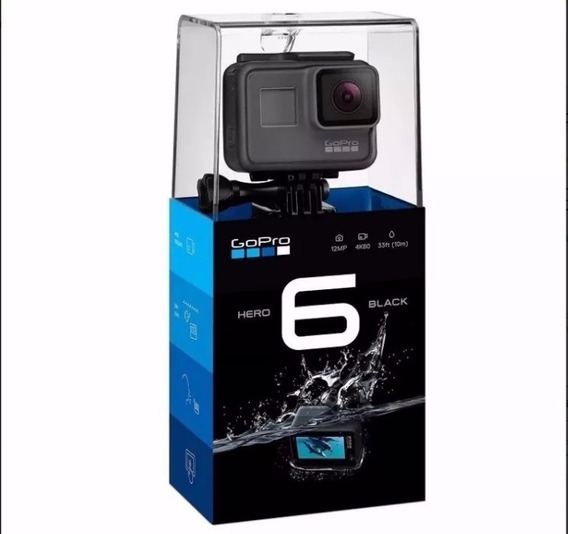 Go Pro Hero6 Black Camera Gopro 6 Ultra Hd Super