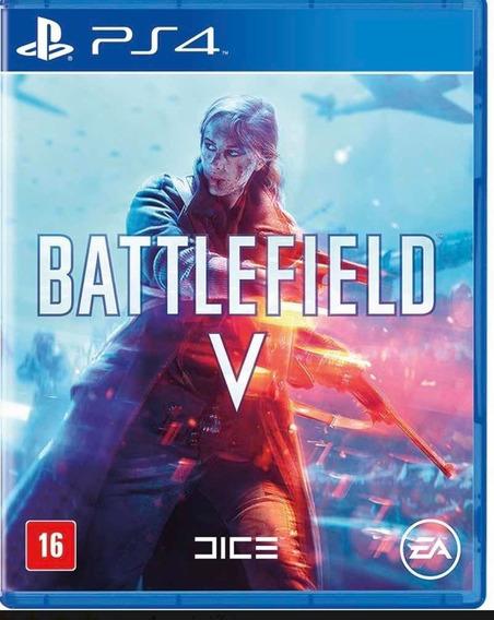 Battlefield V Ps4 Digital Original Vitalício